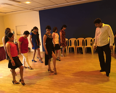Learn international dances all over india