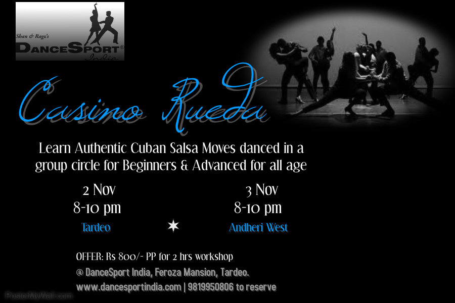Casino Rueda dance workshop